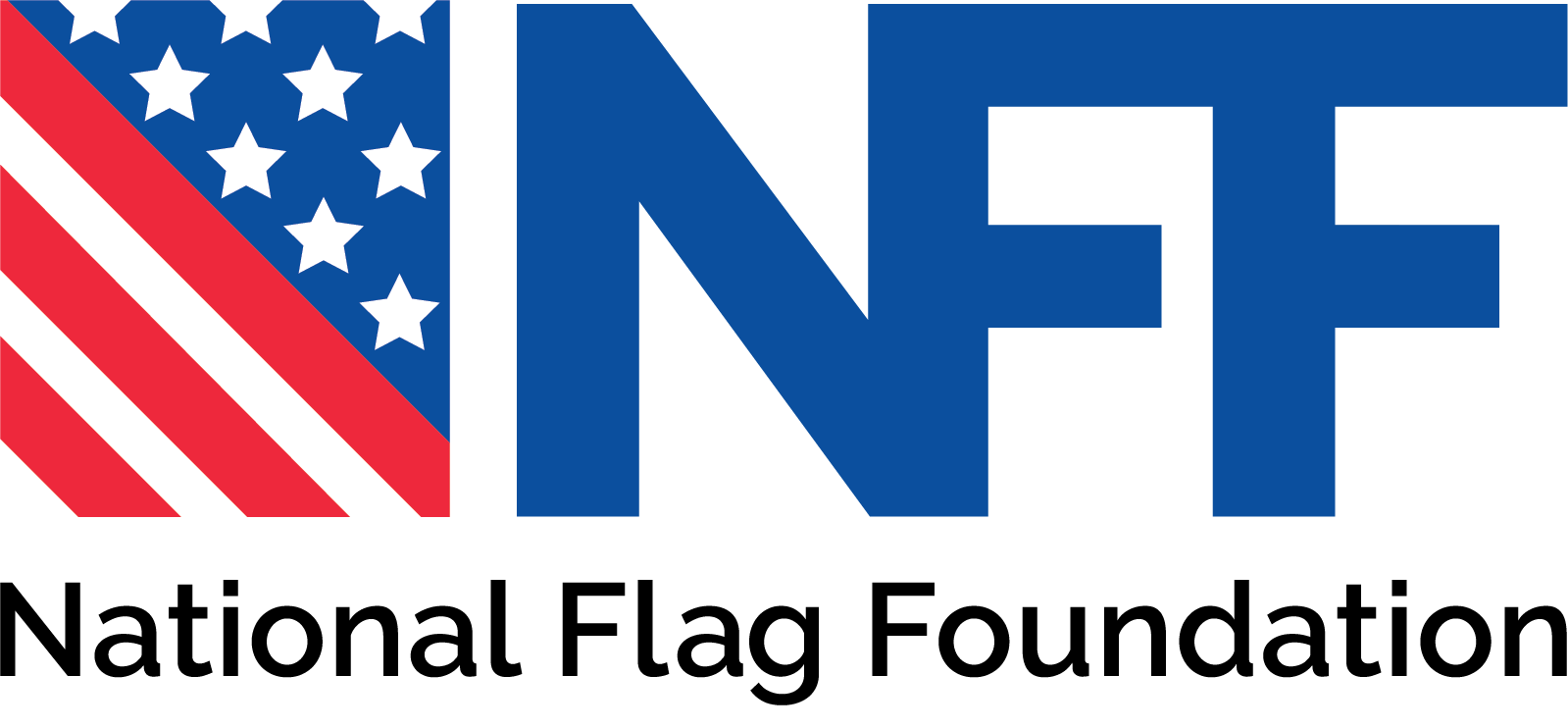 national flag foundation footer logo